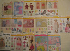 Infant~Baby~Toddler Romper,Top,Shorts,Dress,Bonnet,Hat,Bib,Robe Pattern~Boy~Girl