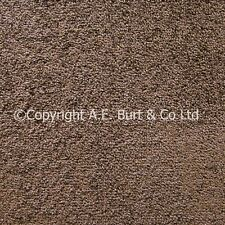 Plano Brown 992 Carpet 4 & 5m Wide Lounge Bedroom Stairs Cheap Felt & Actionbac