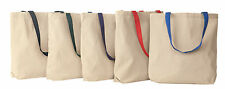 Liberty Bags ECO Cotton Canvas Grocery Tote Reusable Bag School Sport 8868 NEW