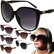 Womens DG Oversized Cat Eye Fashion Sunglasses Designer Style Shades