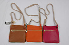 NWT Michael Kors Jet Set Saffiano Leather Large Messenger Crossbody Bag