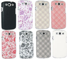 Protective Stylish Snap-On Case Cover Fr Samsung Galaxy S3 i9300 & S3 Lite i9305