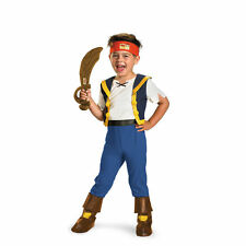 Toddler Peter Pan TV Disney Jr Jake and the Never Land Pirates Deluxe Costume