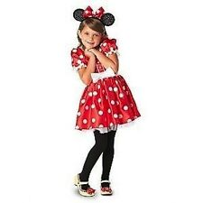Disney Store Classic Minnie Mouse Red & White Polka dot Costume Halloween Dress