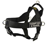 No Pull Universal Dog Harness with Patches Therapy Dog in Training