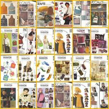 McCalls Fashion Accessories Sewing Pattern OOP Misses You Choose Free Ship 2 USA