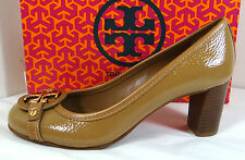 Tory Burch Aaden Sand Tumbled Patent Shoes 5 to 11