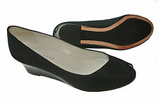 Women's Shoes Bruno Magli Open Toe Pumps Blacks Size 8, 9.5