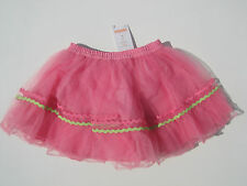 Gymboree NWT BUTTERFLY BLOSSOMS HAPPY BIRTHDAY Tutu Tulle Skirt 18 24 2 3 4 5