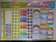Pack Of Reward Stickers And Charts For Fun Playschool Nursery Incentive Kids