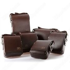 MENS KANGAROO LEATHER CROSS BODY MESSENGER SHOULDER BAG BRIEFCASE PORTFOLIO