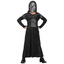 Female Death Eater Bellatrix Costume Harry Potter Child Girls Magic Halloween