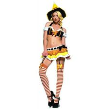 Kandy Korn Witch Adult Sexy Naughty Candy Corn Bedroom Dancer Halloween Costume