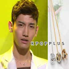 TVXQ JYJ ChangMin  - Two Ring Plus  Nacklace  #TV92