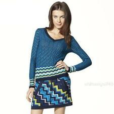 Missoni For Target size M, L, XL Textured V-neck sweater blue herald