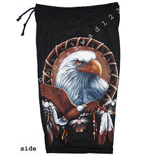 Eagle Hawk Falcon Motorcycle Rock Eagle Shorts Cotton New Free Size