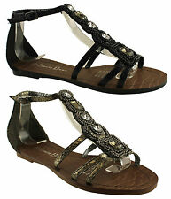 ISABELLA BROWN PASSION LADIES/WOMENS SANDALS/DRESSY/CASUAL/FLATS/SHOES