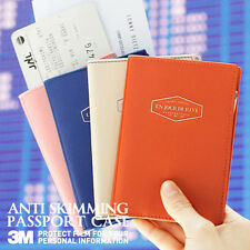Iconic Anti-Skimming/Hacking e-Passport Case Cover Holder Travel Wallet