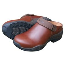 New Tuffa Carlow Clog Shoe Brown all sizes