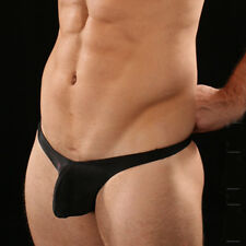 SEXY HOT BLACK OR WHITE MENS SLING SHOT G-STRING THONG BRIEF UNDERWEAR
