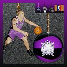 NBA SACRAMENTO KINGS MIKE BIBBY FIGURE & LOGO OR NBA STYLE BASKETBALL FAN PULLS