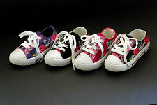 Girls JR Children Causal Walking  Pageant Rhinestone Laces Sneakers Jewel Shoes