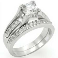 #1 Top selling Cubic Zirconia Wedding/Engagement RINGS SET SIZE 5,6,7,8,9,10