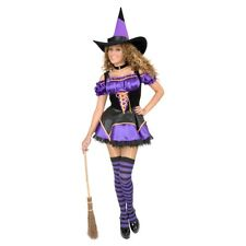 Sexy Witch Costume Adult Halloween Fancy Dress