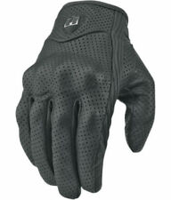 Icon Men's Pursuit Perforated Motorcycle Riding Gloves