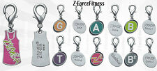 "Zumba® Fitness Charms ""Brand New In Pkg"" Aqua, Gold, Zumbatomic, Toning & More"