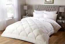 MICROFIBRE , FEELS LIKE DOWN DUVET QUILT, PLUS 2 MICROFIBRE PILLOWS