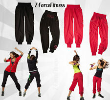 ~ Zumba JAM CARGO PANTS Black & Red NEW ~ NWT ~ Most Sizes ~ WORKOUT GEAR