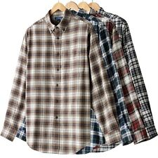 Croft & Barrow Mens Signature Flannel Plaid Shirt~Var. colors /sizes~$38-$42~NWT