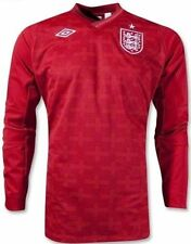 Authentic England Men's Home 2012- 2013 Goalkeeper Long Sleeve Shirt