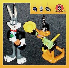LOONEY TUNES CHARACTER- 2 FIGURES FAN PULLS- BUGS BUNNY, DAFFY DUCK, TAZ, ETC...