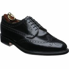 MENS LOAKE SHOES (BRAEMAR BLACK)