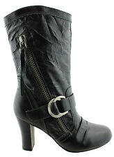 BONBONS LIGHT UP WOMENS/LADIES LEATHER SHOES/ BOOTS/MEDIUM HEEL ON EBAY AUS!