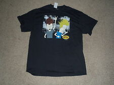 BEAVIS AND BUTT HEAD   BLACK  TEE SHIRT  NEW WITH TAGS