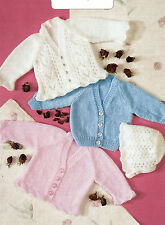 BABY & CHILDRENS DOUBLE KNITTING *DK* KNITTING PATTERNS*30 TO CHOOSE FROM*