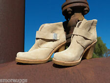 New Womens UGG Brienne Sand Short Ankle Suede Boot All Sizes