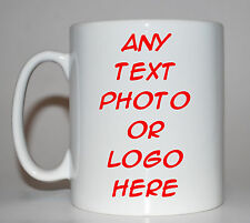 Personalised Mug **3 STYLES AVAILABLE INCLUDING BONE CHINA**
