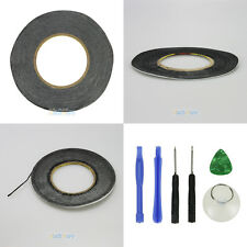 1mm 2mm 3mm Double Sided Adhesive Sticky Tape For Mobile Phone + Tools New