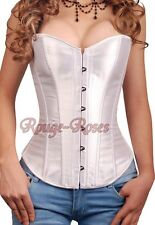 Wedding Bridal White French CORSET S-6XL Bustier  Dignified Appealing RR-g517_w