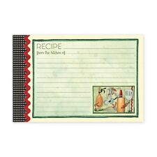 Brownlow 4x6 Designer Recipe Cards - 36 Count - Various Designs - FREE SHIPPING