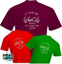 60 YEARS TO LOOK THIS GOOD - 60th BIRTHDAY T Shirt Present Gift Fun Quality NEW