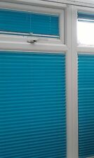 No Screw Blinds 247 EZ Fit pleated conservatory window blinds. Retro fabric