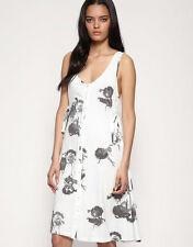 BIG SALE!!  Cheap Monday Corset Side Floral Dress White Sizes 8,10,12