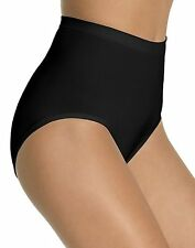 4 pack BALI Seamless Firm Control Briefs - Style X204 - Featuring Black