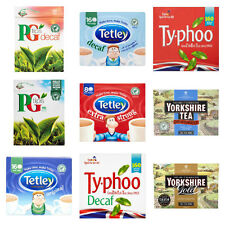 480 BRITISH TEA YORKSHIRE GOLD TETLEY PG TIPS TYPHOO DECAF SHIPS FROM UK