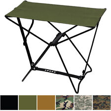 Camouflage Lightweight Portable Chair  Folding Camp Stool